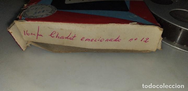 Cine: PELICULA DE CHARLOT TITULO EMOCIONADO EN 16MM - Foto 2 - 190834492