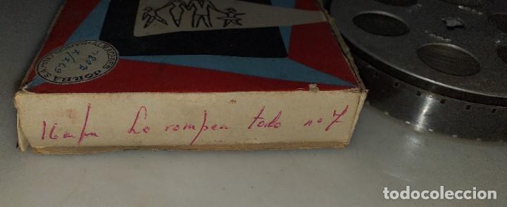 Cine: PELICULA EN 16MM TITULO LO ROMPEN TODO DE STAN LAUREL Y OLIVER HARDY - Foto 2 - 190834956