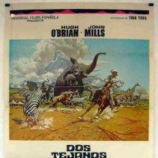 Cine: DOS TEJANOS EN LA SELVA. Lote 192610850