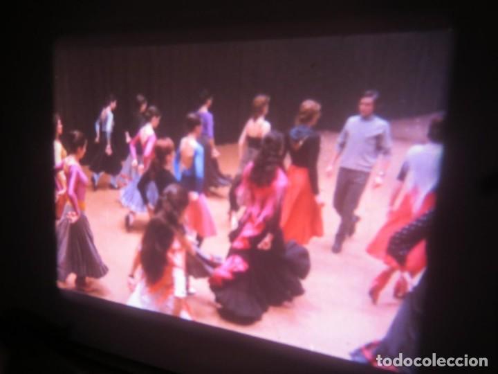 Cine: CARMEN (CARLOS SAURA) LARGOMETRAJE PELÍCULA 16 MM - 3 x 600 MTS. RETRO-VINTAGE FILM-REBAJADA (100 E) - Foto 5 - 193242626