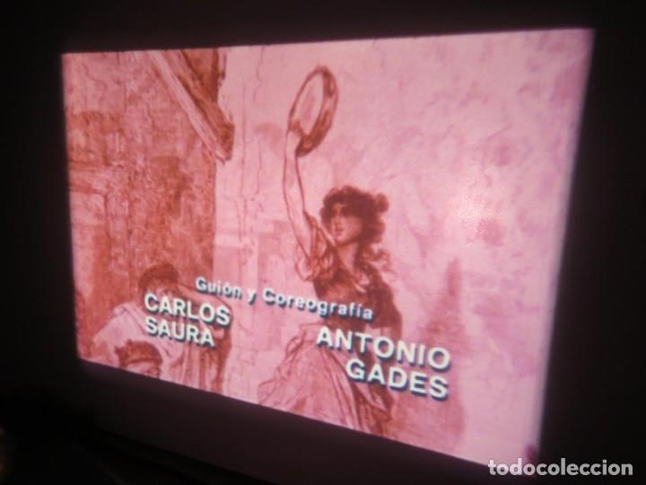 Cine: CARMEN (CARLOS SAURA) LARGOMETRAJE PELÍCULA 16 MM - 3 x 600 MTS. RETRO-VINTAGE FILM-REBAJADA (100 E) - Foto 34 - 193242626