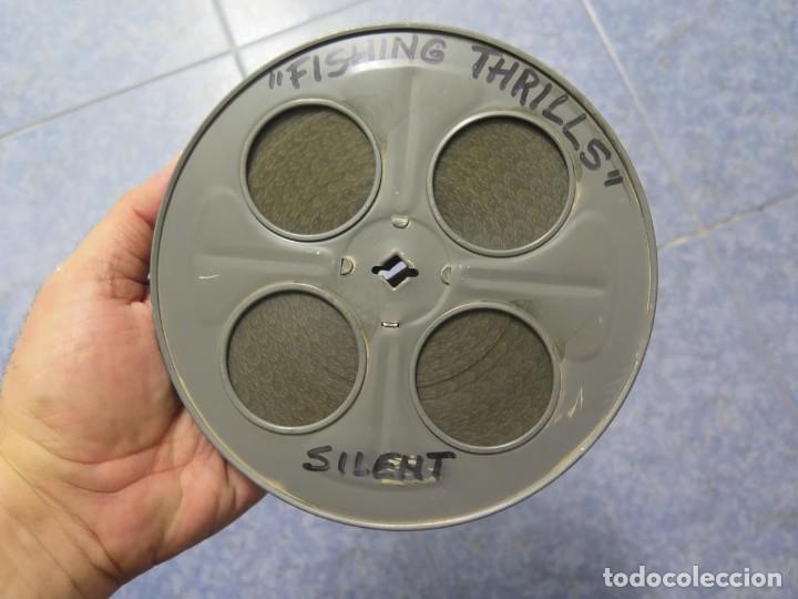FISHING THRILLS (EMOCIONES DE PESCA) DOCUMENTAL 16 MM -MUDO - RETRO VINTAGE FILM (Cine - Películas - 16 mm)