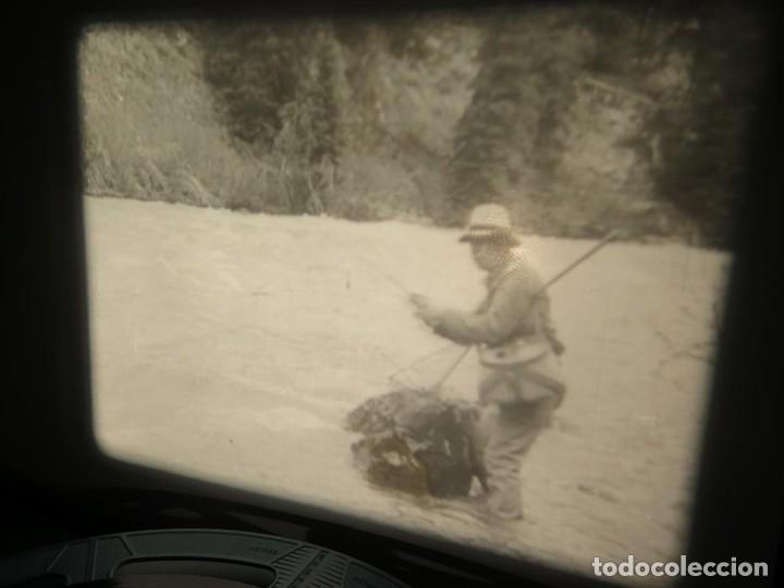 Cine: FISHING THRILLS (EMOCIONES DE PESCA) DOCUMENTAL 16 MM -MUDO - RETRO VINTAGE FILM - Foto 5 - 193341708