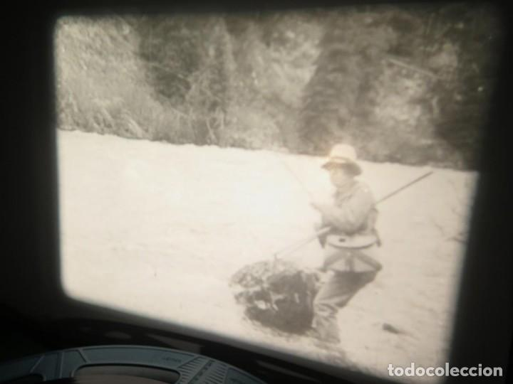 Cine: FISHING THRILLS (EMOCIONES DE PESCA) DOCUMENTAL 16 MM -MUDO - RETRO VINTAGE FILM - Foto 6 - 193341708