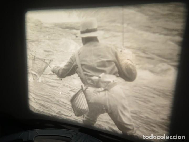 Cine: FISHING THRILLS (EMOCIONES DE PESCA) DOCUMENTAL 16 MM -MUDO - RETRO VINTAGE FILM - Foto 7 - 193341708