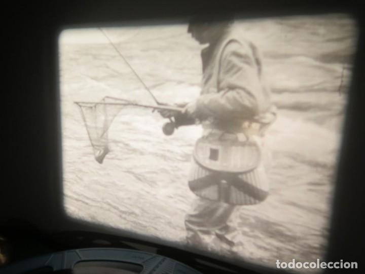 Cine: FISHING THRILLS (EMOCIONES DE PESCA) DOCUMENTAL 16 MM -MUDO - RETRO VINTAGE FILM - Foto 8 - 193341708