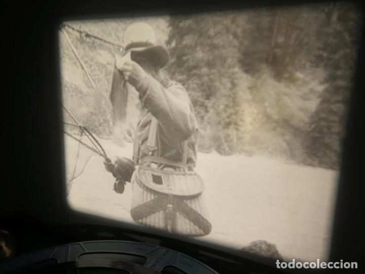 Cine: FISHING THRILLS (EMOCIONES DE PESCA) DOCUMENTAL 16 MM -MUDO - RETRO VINTAGE FILM - Foto 10 - 193341708