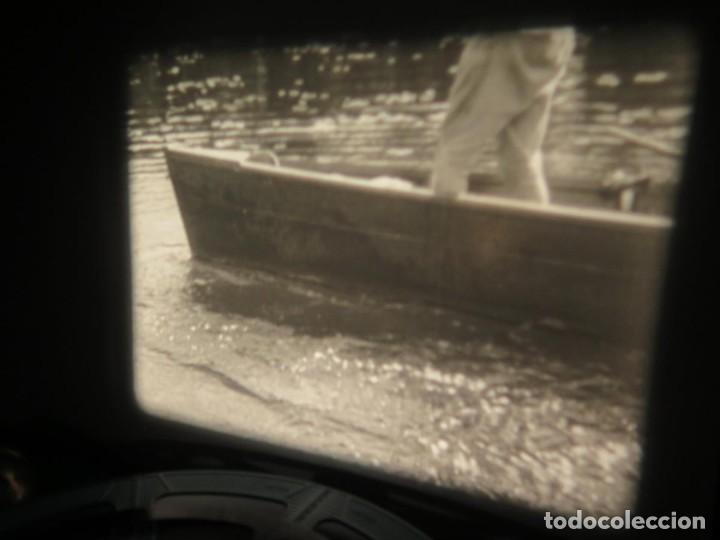 Cine: FISHING THRILLS (EMOCIONES DE PESCA) DOCUMENTAL 16 MM -MUDO - RETRO VINTAGE FILM - Foto 13 - 193341708