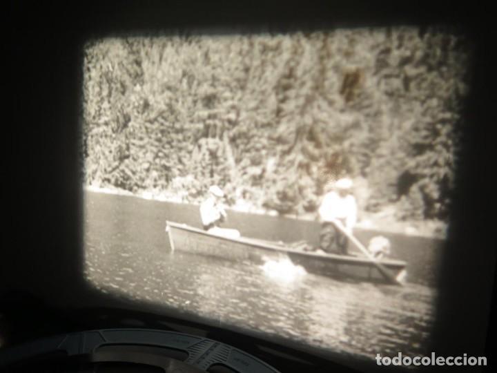 Cine: FISHING THRILLS (EMOCIONES DE PESCA) DOCUMENTAL 16 MM -MUDO - RETRO VINTAGE FILM - Foto 19 - 193341708