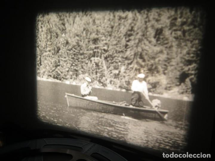 Cine: FISHING THRILLS (EMOCIONES DE PESCA) DOCUMENTAL 16 MM -MUDO - RETRO VINTAGE FILM - Foto 20 - 193341708