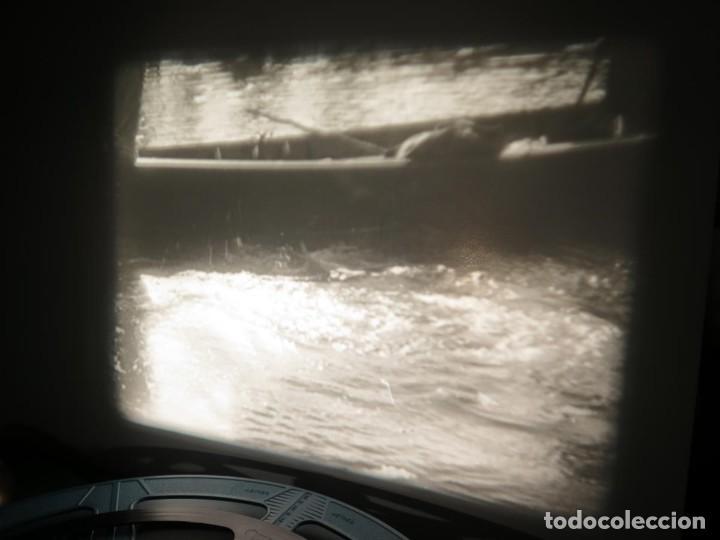 Cine: FISHING THRILLS (EMOCIONES DE PESCA) DOCUMENTAL 16 MM -MUDO - RETRO VINTAGE FILM - Foto 22 - 193341708