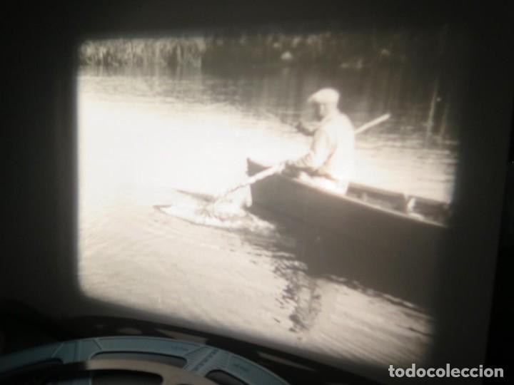 Cine: FISHING THRILLS (EMOCIONES DE PESCA) DOCUMENTAL 16 MM -MUDO - RETRO VINTAGE FILM - Foto 24 - 193341708
