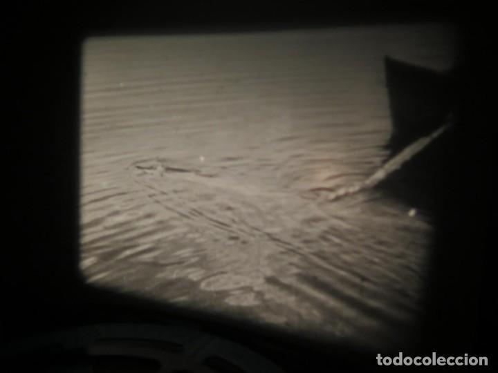 Cine: FISHING THRILLS (EMOCIONES DE PESCA) DOCUMENTAL 16 MM -MUDO - RETRO VINTAGE FILM - Foto 25 - 193341708