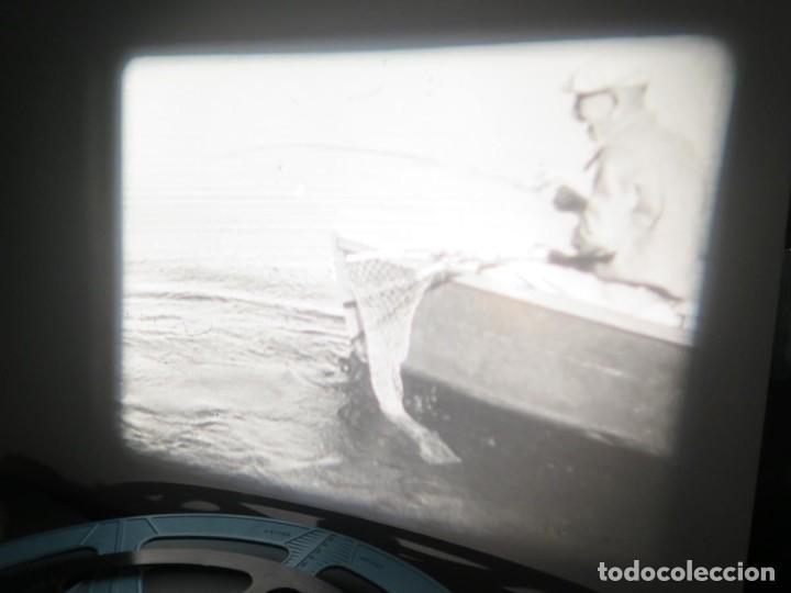 Cine: FISHING THRILLS (EMOCIONES DE PESCA) DOCUMENTAL 16 MM -MUDO - RETRO VINTAGE FILM - Foto 26 - 193341708