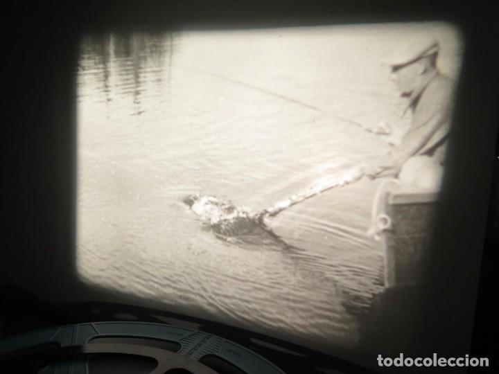 Cine: FISHING THRILLS (EMOCIONES DE PESCA) DOCUMENTAL 16 MM -MUDO - RETRO VINTAGE FILM - Foto 27 - 193341708