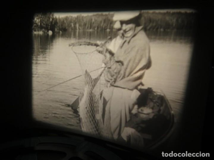 Cine: FISHING THRILLS (EMOCIONES DE PESCA) DOCUMENTAL 16 MM -MUDO - RETRO VINTAGE FILM - Foto 29 - 193341708
