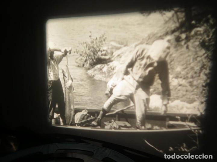 Cine: FISHING THRILLS (EMOCIONES DE PESCA) DOCUMENTAL 16 MM -MUDO - RETRO VINTAGE FILM - Foto 30 - 193341708