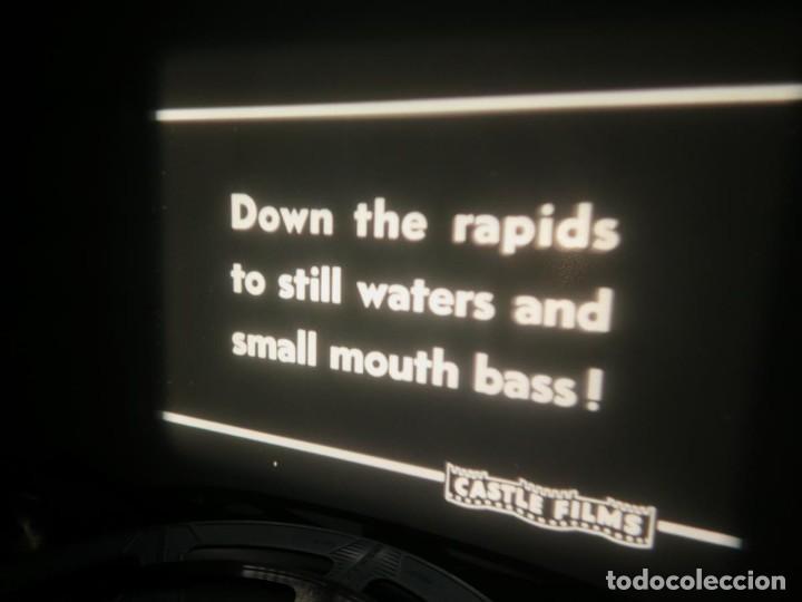Cine: FISHING THRILLS (EMOCIONES DE PESCA) DOCUMENTAL 16 MM -MUDO - RETRO VINTAGE FILM - Foto 32 - 193341708