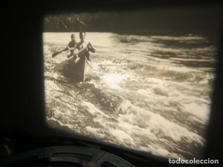 Cine: FISHING THRILLS (EMOCIONES DE PESCA) DOCUMENTAL 16 MM -MUDO - RETRO VINTAGE FILM - Foto 33 - 193341708