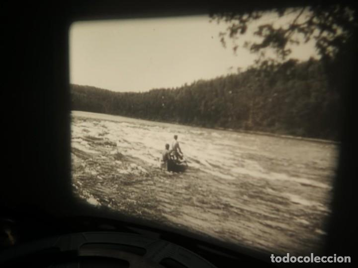 Cine: FISHING THRILLS (EMOCIONES DE PESCA) DOCUMENTAL 16 MM -MUDO - RETRO VINTAGE FILM - Foto 34 - 193341708