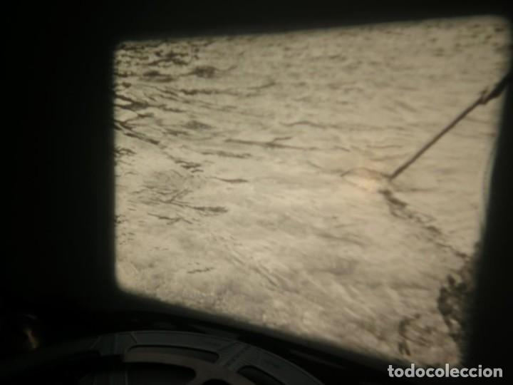 Cine: FISHING THRILLS (EMOCIONES DE PESCA) DOCUMENTAL 16 MM -MUDO - RETRO VINTAGE FILM - Foto 37 - 193341708