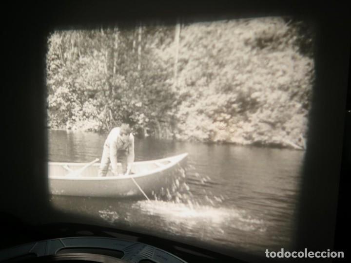 Cine: FISHING THRILLS (EMOCIONES DE PESCA) DOCUMENTAL 16 MM -MUDO - RETRO VINTAGE FILM - Foto 43 - 193341708