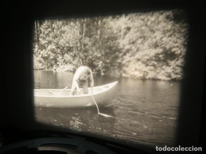 Cine: FISHING THRILLS (EMOCIONES DE PESCA) DOCUMENTAL 16 MM -MUDO - RETRO VINTAGE FILM - Foto 44 - 193341708