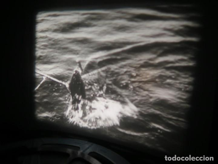 Cine: FISHING THRILLS (EMOCIONES DE PESCA) DOCUMENTAL 16 MM -MUDO - RETRO VINTAGE FILM - Foto 48 - 193341708