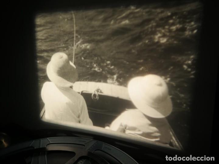 Cine: FISHING THRILLS (EMOCIONES DE PESCA) DOCUMENTAL 16 MM -MUDO - RETRO VINTAGE FILM - Foto 51 - 193341708