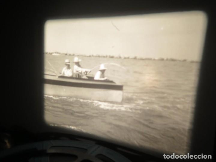 Cine: FISHING THRILLS (EMOCIONES DE PESCA) DOCUMENTAL 16 MM -MUDO - RETRO VINTAGE FILM - Foto 53 - 193341708