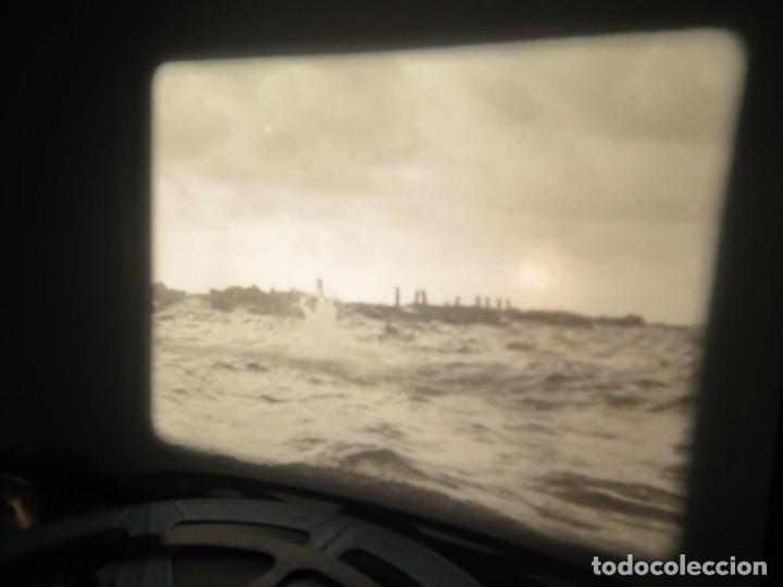 Cine: FISHING THRILLS (EMOCIONES DE PESCA) DOCUMENTAL 16 MM -MUDO - RETRO VINTAGE FILM - Foto 54 - 193341708