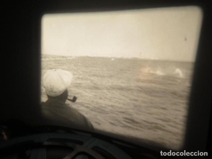 Cine: FISHING THRILLS (EMOCIONES DE PESCA) DOCUMENTAL 16 MM -MUDO - RETRO VINTAGE FILM - Foto 55 - 193341708