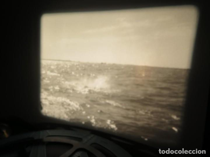 Cine: FISHING THRILLS (EMOCIONES DE PESCA) DOCUMENTAL 16 MM -MUDO - RETRO VINTAGE FILM - Foto 56 - 193341708