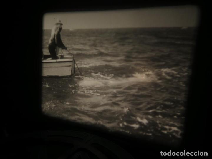 Cine: FISHING THRILLS (EMOCIONES DE PESCA) DOCUMENTAL 16 MM -MUDO - RETRO VINTAGE FILM - Foto 57 - 193341708