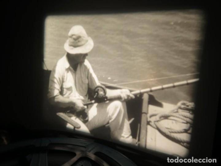 Cine: FISHING THRILLS (EMOCIONES DE PESCA) DOCUMENTAL 16 MM -MUDO - RETRO VINTAGE FILM - Foto 61 - 193341708