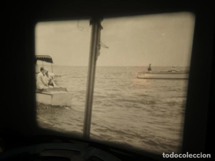 Cine: FISHING THRILLS (EMOCIONES DE PESCA) DOCUMENTAL 16 MM -MUDO - RETRO VINTAGE FILM - Foto 64 - 193341708