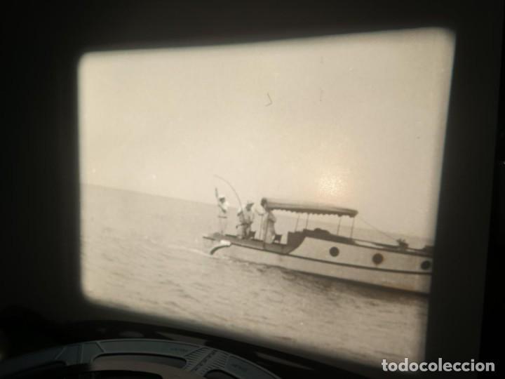 Cine: FISHING THRILLS (EMOCIONES DE PESCA) DOCUMENTAL 16 MM -MUDO - RETRO VINTAGE FILM - Foto 65 - 193341708