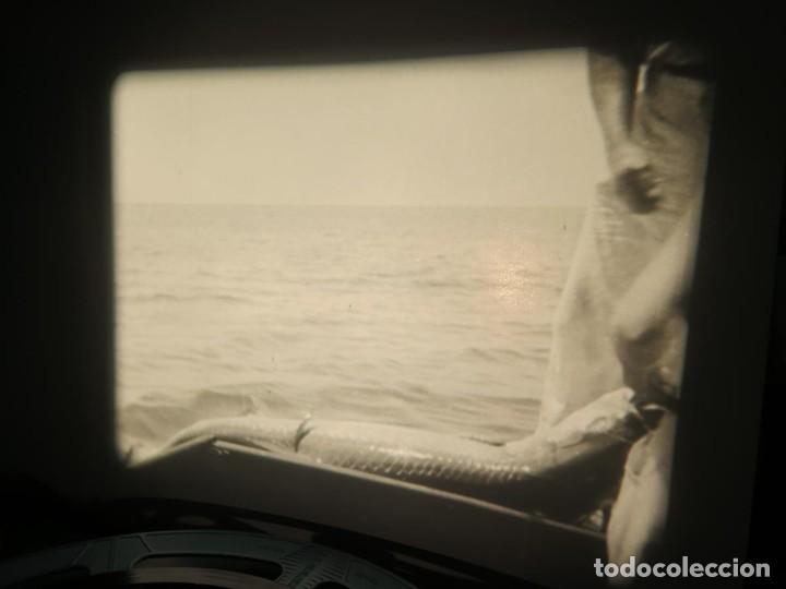 Cine: FISHING THRILLS (EMOCIONES DE PESCA) DOCUMENTAL 16 MM -MUDO - RETRO VINTAGE FILM - Foto 66 - 193341708