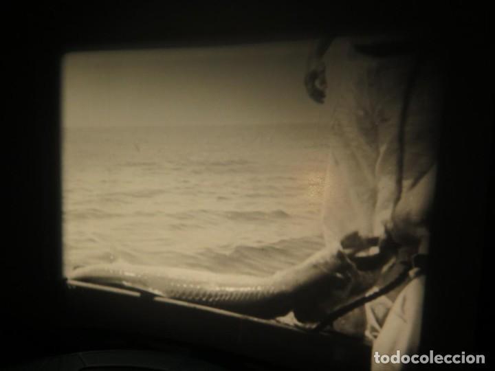 Cine: FISHING THRILLS (EMOCIONES DE PESCA) DOCUMENTAL 16 MM -MUDO - RETRO VINTAGE FILM - Foto 67 - 193341708