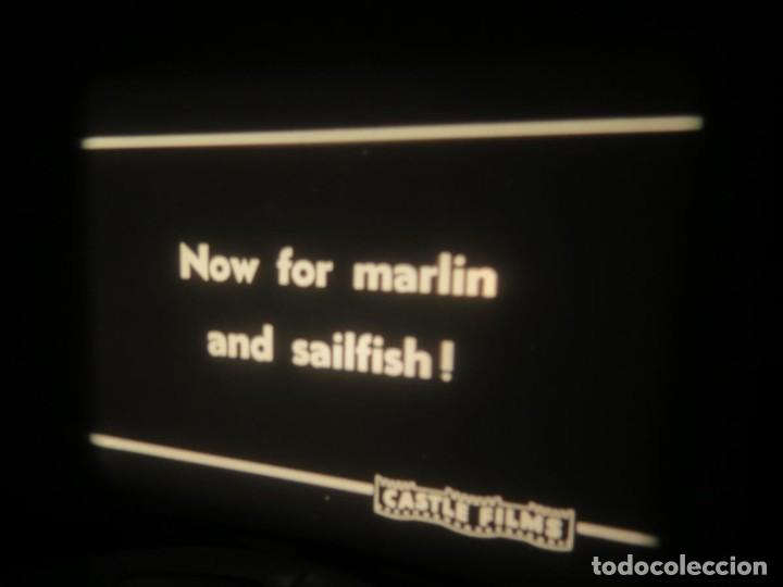 Cine: FISHING THRILLS (EMOCIONES DE PESCA) DOCUMENTAL 16 MM -MUDO - RETRO VINTAGE FILM - Foto 68 - 193341708