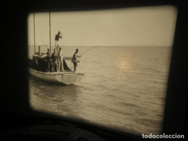 Cine: FISHING THRILLS (EMOCIONES DE PESCA) DOCUMENTAL 16 MM -MUDO - RETRO VINTAGE FILM - Foto 70 - 193341708