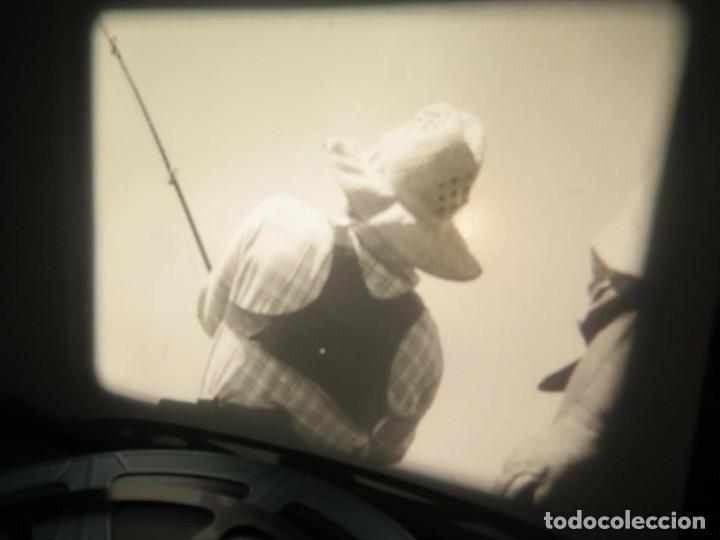 Cine: FISHING THRILLS (EMOCIONES DE PESCA) DOCUMENTAL 16 MM -MUDO - RETRO VINTAGE FILM - Foto 74 - 193341708