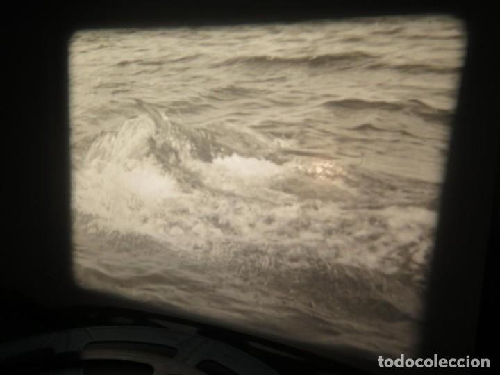 Cine: FISHING THRILLS (EMOCIONES DE PESCA) DOCUMENTAL 16 MM -MUDO - RETRO VINTAGE FILM - Foto 78 - 193341708