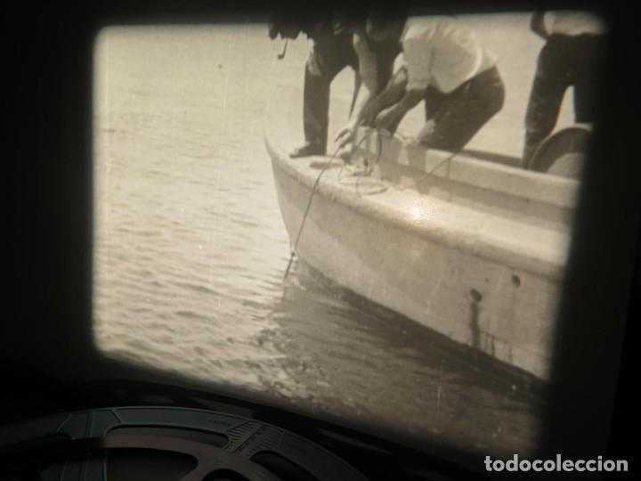 Cine: FISHING THRILLS (EMOCIONES DE PESCA) DOCUMENTAL 16 MM -MUDO - RETRO VINTAGE FILM - Foto 79 - 193341708