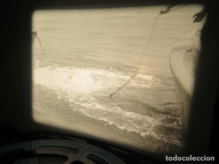 Cine: FISHING THRILLS (EMOCIONES DE PESCA) DOCUMENTAL 16 MM -MUDO - RETRO VINTAGE FILM - Foto 80 - 193341708