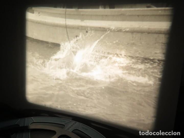 Cine: FISHING THRILLS (EMOCIONES DE PESCA) DOCUMENTAL 16 MM -MUDO - RETRO VINTAGE FILM - Foto 81 - 193341708