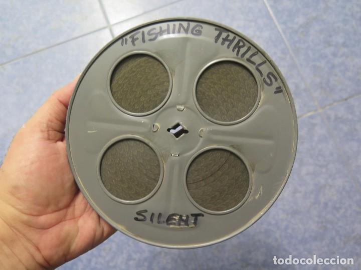 Cine: FISHING THRILLS (EMOCIONES DE PESCA) DOCUMENTAL 16 MM -MUDO - RETRO VINTAGE FILM - Foto 88 - 193341708