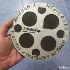 Cine: PLATEROS Y TEJEDORES DE TAXCO - DOCUMENTAL 16 MM - RETRO VINTAGE FILM. Lote 193341872