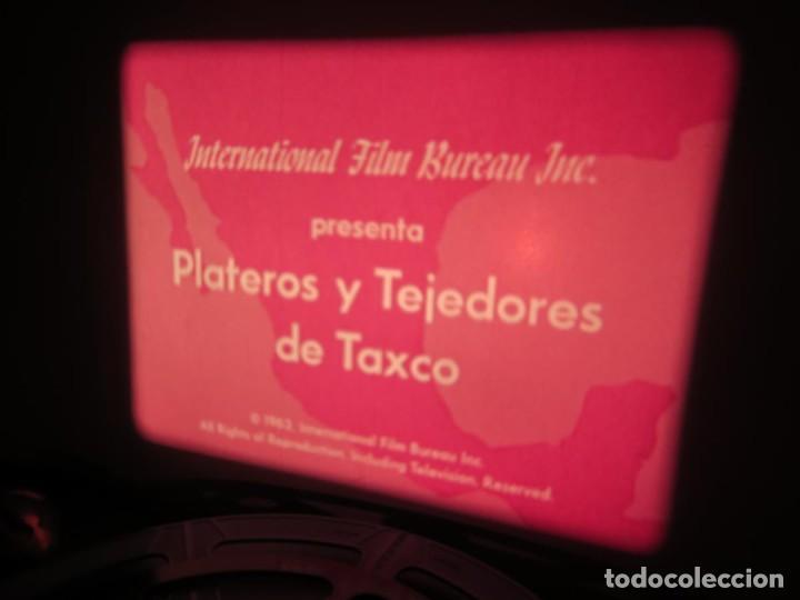 Cine: PLATEROS Y TEJEDORES DE TAXCO - DOCUMENTAL 16 MM - RETRO VINTAGE FILM - Foto 2 - 193341872
