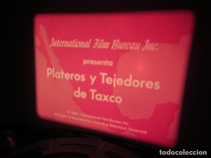 Cine: PLATEROS Y TEJEDORES DE TAXCO - DOCUMENTAL 16 MM - RETRO VINTAGE FILM - Foto 3 - 193341872